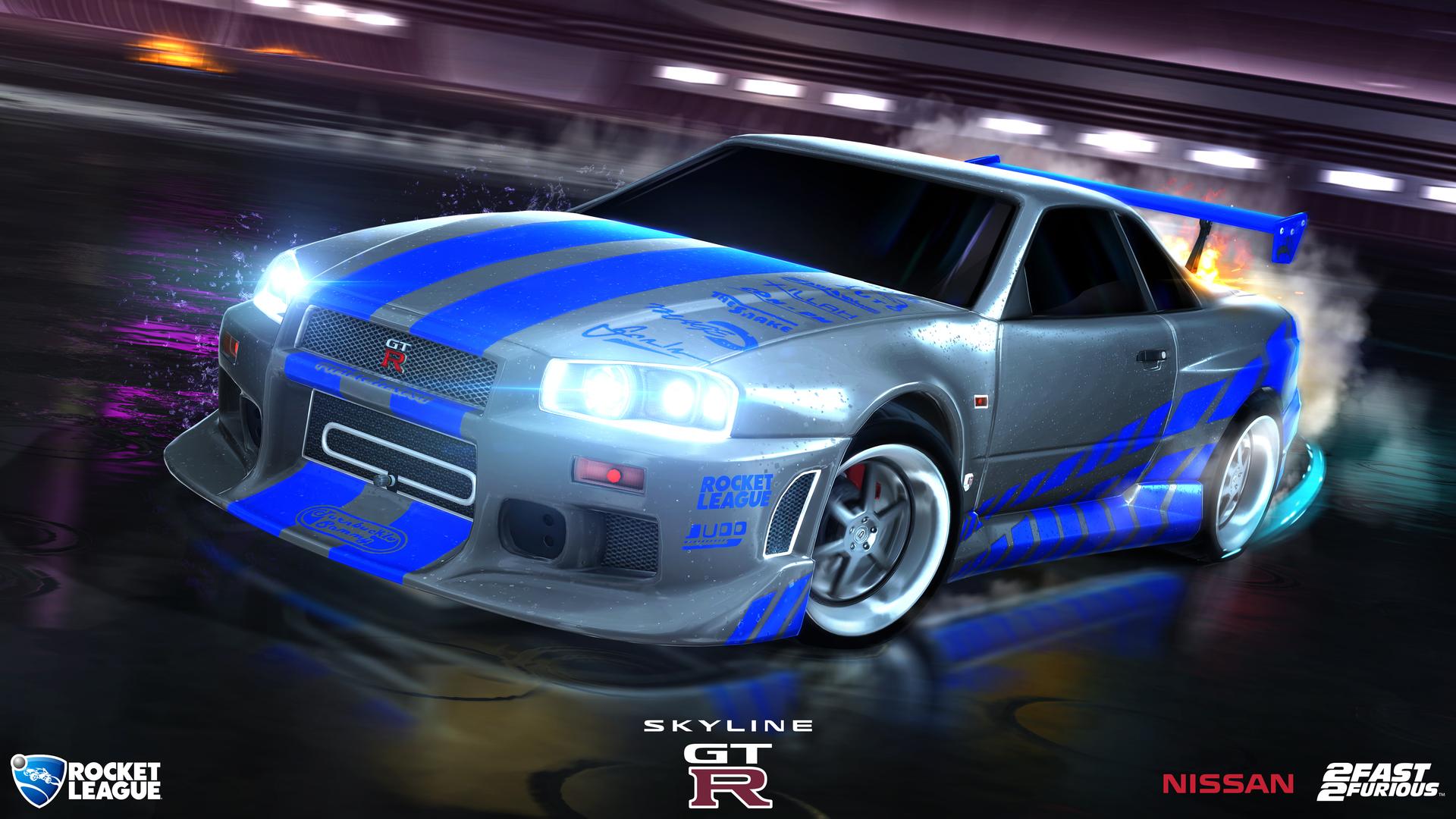 U002799 Nissan Skyline GT R R34