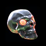 Skull antenna icon