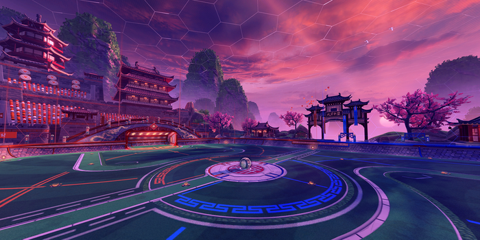 Forbidden Temple arena preview