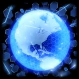 DigiGlobe goal explosion icon