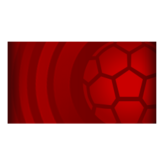 Soccer Ball player banner icon