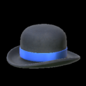 Bowler topper icon cobalt