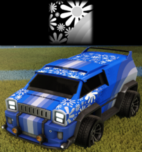 Flower power decal rare