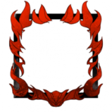 Fire main avatar border icon