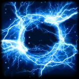 Electroshock goal explosion icon