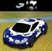 Car Endo Dec-Cupcake