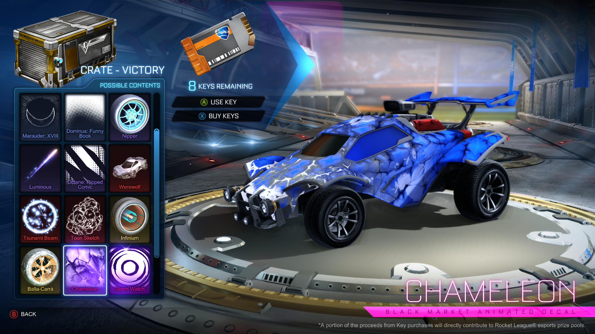 image crate victory chameleon png rocket league wiki