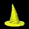 Wizard hat topper icon saffron