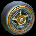 SLK wheel icon burnt sienna