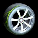 Septem wheel icon lime