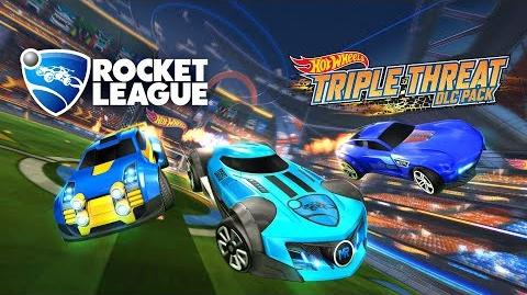 Rocket League® - Hot Wheels® Triple Threat DLC Pack Trailer