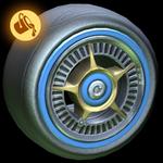 SLK wheel icon paint