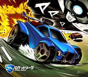 Rocket League CE art print