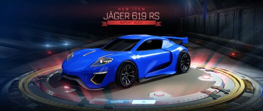 Jäger 619 RS crate unlock