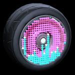 Equalizer wheel icon