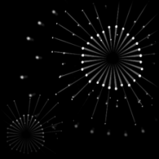 Fireworks decal icon