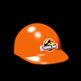 Jurassic Park Hard Hat topper icon