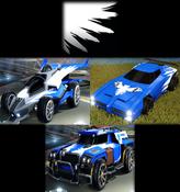 Wings decal premium