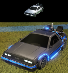 Delorean time machine body
