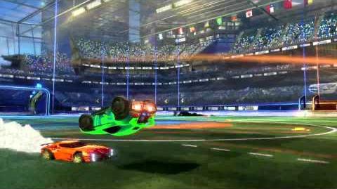 Rocket League Supersonic Fury DLC trailer PS4