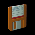 Floppy antenna icon