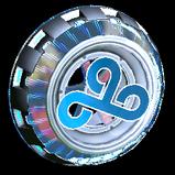Usurper Holographic Cloud9 wheel icon