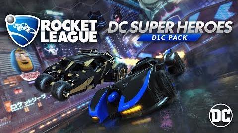 Rocket League® - DC Super Heroes DLC Trailer