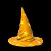 Wizard hat topper icon orange