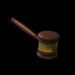 Gavel topper icon