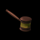 Gavel topper icon