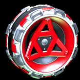 Meridian wheel icon