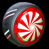 Peppermint wheel icon