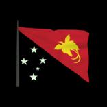 Papua New Guinea antenna icon