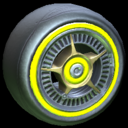 SLK wheel icon saffron