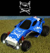 Nine lives decal rare