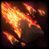Meteor Storm goal explosion icon