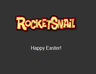 Rocketsnail happy easter