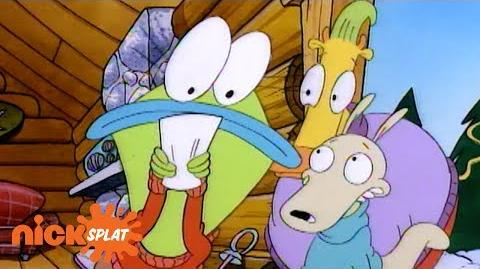Rocko and Mr. Bighead Book the Same Cabin Rocko's Modern Life NickSplat
