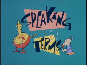 Speaking Terms