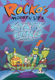 Rocko's Modern Life Static Cling