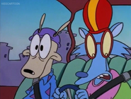 Mrs. Wolfe Wondering which are the breaks (Driving Mrs. Wolfe) Rocko's modern life