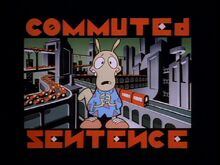 Commuted sentence title card
