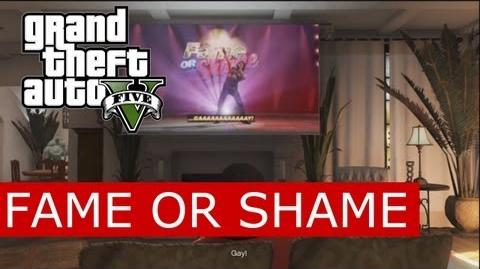 GTA V - Fame or Shame (America's Got Talent Parody) starring Lazlow-0