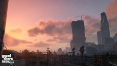 Sunset of Los Santos