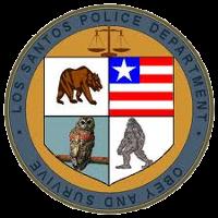 los santos police department in gta v rockstar games