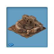 Halloween Gifts Amphitheatre ruins