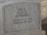 Paulie's grave