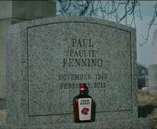 Paulie Pennino Gravestone