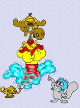Bullwinkle the genie by darcat1530 dczhkum-fullview