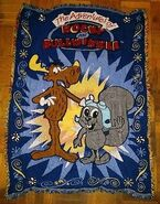 The-Adventures-of-Rocky-and-Bullwinkle-Throw-Blanket